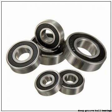170 mm x 260 mm x 42 mm  KOYO 6034ZX deep groove ball bearings