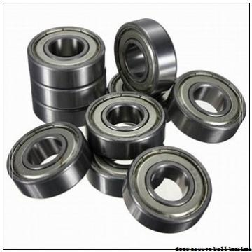 105 mm x 190 mm x 36 mm  SKF 6221-2RS1 deep groove ball bearings