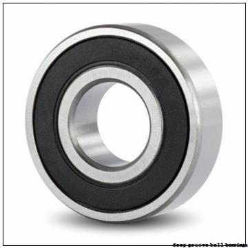 12 mm x 28 mm x 12 mm  FBJ 63001-2RS deep groove ball bearings