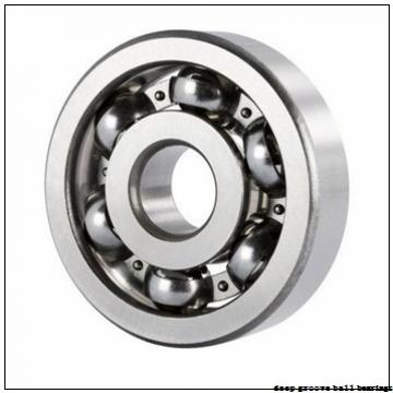 5 mm x 14 mm x 5 mm  NSK F605 deep groove ball bearings