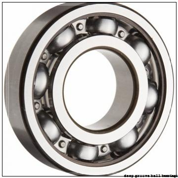 17 mm x 23 mm x 4 mm  SKF W 61703 R-2ZS deep groove ball bearings
